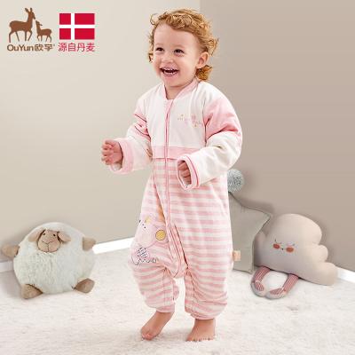 睡袋嬰兒兒童秋冬款四季通用秋冬季純棉分腿寶寶防踢被子冬天加厚