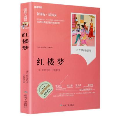 正版 四大名著 红楼梦 小学生青少年版课外书儿童文学 新课标世界名著 三四五六年级读物