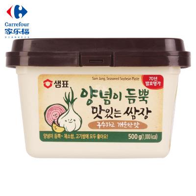 【家乐福】膳府传统烤肉蘸酱500克