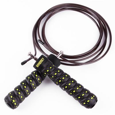 威耐尔(Winergy)轴承竞速钢丝跳绳专业健美中考运动健身绳成人可调节长短3M