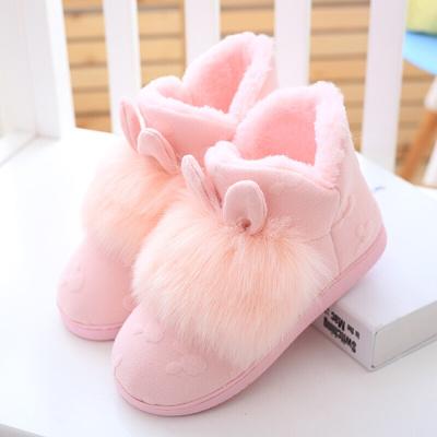 高幫月子鞋冬季加厚產后包跟秋冬室內女冬防滑厚底產婦軟底孕婦鞋
