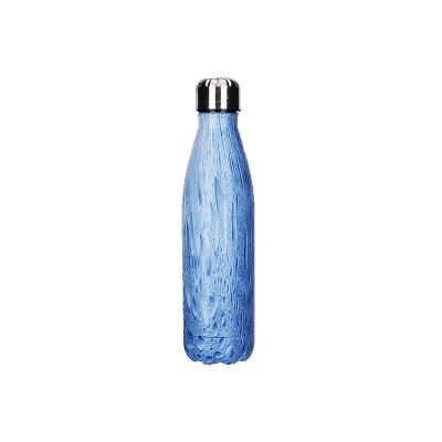 三極戶外(Tripolar) TP3601 條紋保溫杯500ml休閑創意不銹鋼運動戶外水壺禮品水杯
