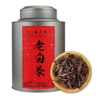 逸隐 福鼎白茶白牡丹散茶6年老白茶罐装150g 贞毫茶叶