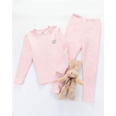紅豆居家(Hodohome)男童女童B類棉氨紅豆絨內衣中大童內衣系列男孩女孩秋衣秋褲套裝