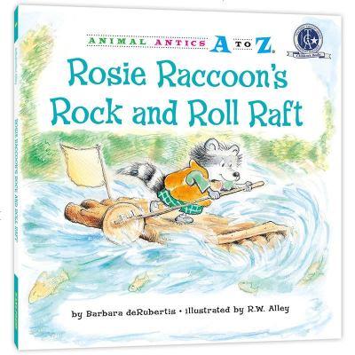 """0910幼儿园里的26个开心果:""""摇滚号""""竹筏AnimalAnticsAtoZ:RosieRaccoon'sRock"""