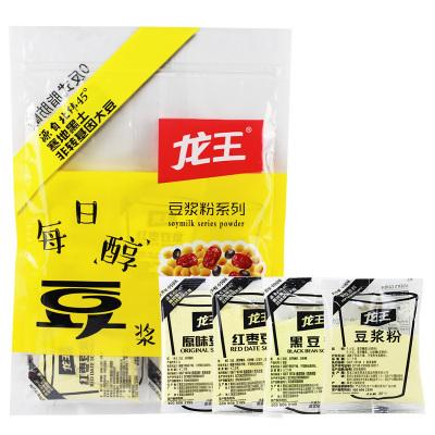 龙王豆浆粉甜味早餐豆浆粉商用家用豆粉速溶小包装16包豆浆