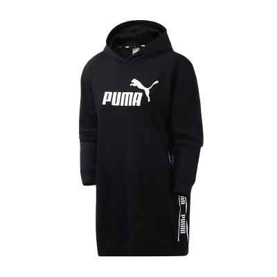 【自营】PUMA彪马女装串标连帽长袖卫衣休闲运动连衣裙581073