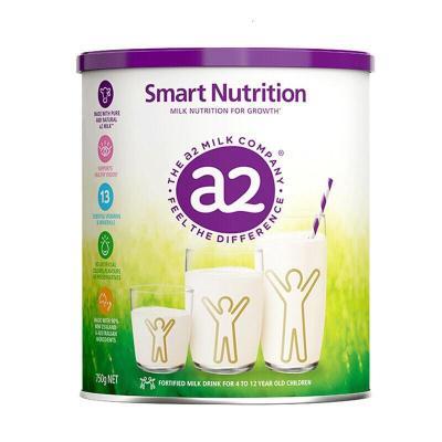 A2小安素兒童青少年成長奶粉750g*1罐