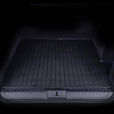 爱绿能(IGEG)汽车后备箱垫 行李箱尾箱垫 皮革耐磨 专车专用黑色 下单请备注车型年款