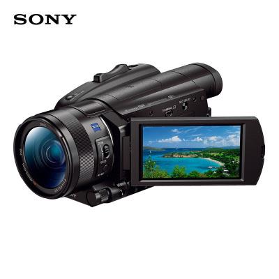 索尼(SONY)FDR-AX700數碼攝像機4K 超高清DV/紅外夜視攝像機【下單送實惠大禮包】