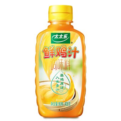 太太樂鮮雞汁408g 煲湯拌面雞湯面 調料液體雞精味精