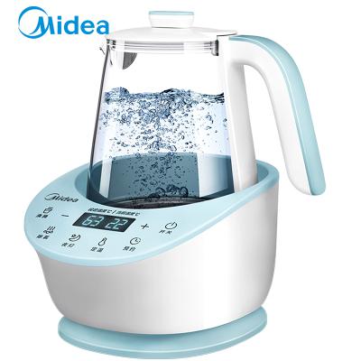 美的(Midea)恒溫調奶器恒溫壺玻璃水壺電熱水壺沖泡奶粉器MI-MYTEasy201