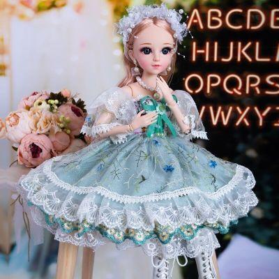 菲妮朵兒芭比娃娃玩具套裝超大芭比娃娃60厘米套裝女孩公主兒童玩具仿真兒童玩具衣服單個布3-7-9歲