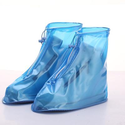 防雨鞋套加厚成人防滑雨鞋套男女鞋套防水雨天兒童防滑加厚耐磨款中筒塑膠 臻依緣