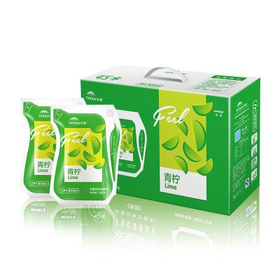 【航空直发】新疆天润酸奶低温网红酸牛奶青柠口味180g*12袋整箱