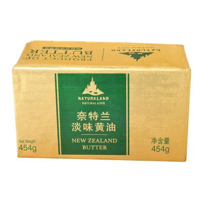 新西蘭進口 奈特蘭淡味黃油454g 動物性黃油塊 面包餅干牛軋糖煎牛排烘焙原料