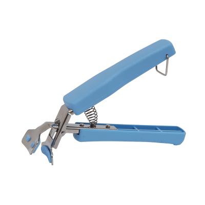 歐潤哲 藍色多功能取盤器 夾盤子抓盤子端碗夾防滑家用廚房防燙手