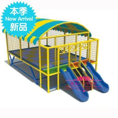 幼儿园室外大型蹦床儿童外蹦蹦床游乐设备游乐园广场q跳2跳床 3*3[定制] 4*5m有蓬