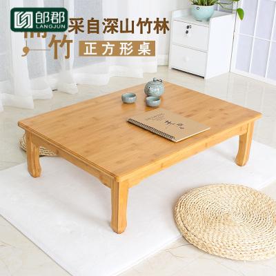 郎郡楠竹炕桌炕幾方桌子正方形吃飯桌學習桌飄窗桌榻榻米地桌矮桌茶幾