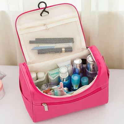 便攜化妝包大容量手提洗漱包韓版可折疊防水旅行包包多功能化妝包朵洛蒂