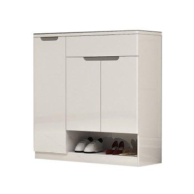 雙虎家私 鞋柜簡約現代 超薄三門經濟型客廳大容量家用鞋柜16H1