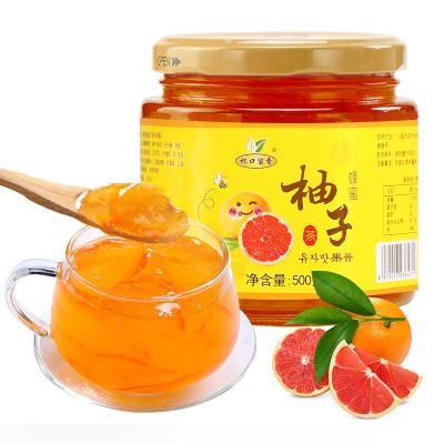 杯口留香蜂蜜柚子茶 500克 果味茶 蜜煉柚子茶