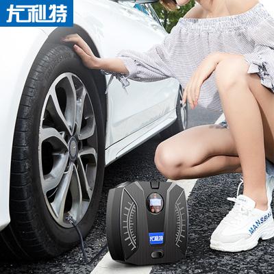 尤利特(UNIT)車載充氣泵 YD-371S 汽車用點煙器電源直流12V 照明功能補胎功能胎測功能打氣泵打氣機數顯預設款