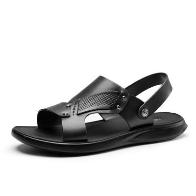 奥康19年男鞋夏季新款休闲沙滩鞋凉鞋沙滩鞋潮流清凉男软底拖鞋两用
