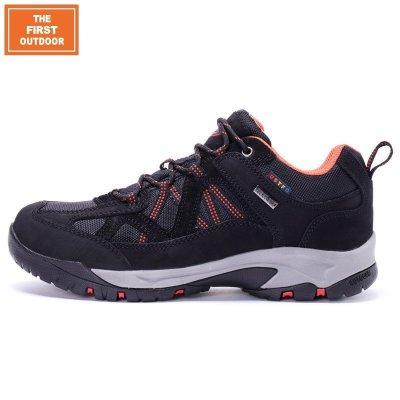TFO 运动登山徒步行男女士防水防滑低帮秋冬季保暖越野鞋