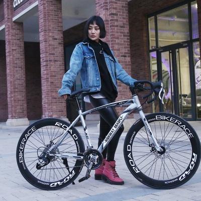 王太醫公路賽車自行車實心胎活飛單車變速死飛肌肉彎把26寸男女學生成年