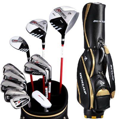 登路普(DUNLOP) 高尔夫球杆 套杆 全套球具 碳素杆身 男士套杆 REBEL系列