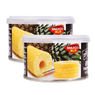 【包邮零食】 美伦多Melundo 罐头泰国进口菠萝罐头227g*1罐装 即食水果罐头烘焙水果材料凤梨水果捞