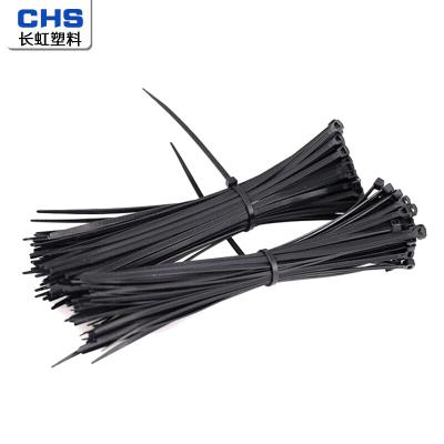 CHS 長虹塑料尼龍扎帶束線帶理線帶扎線帶5*300(200根/包)1包 黑色