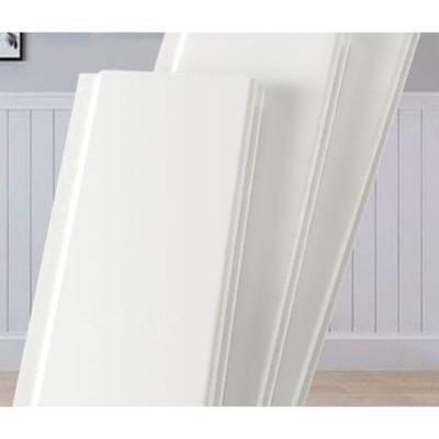 白色護墻板實木墻裙板免漆桑拿板陽臺吊頂板背景墻裝飾板集成扣板