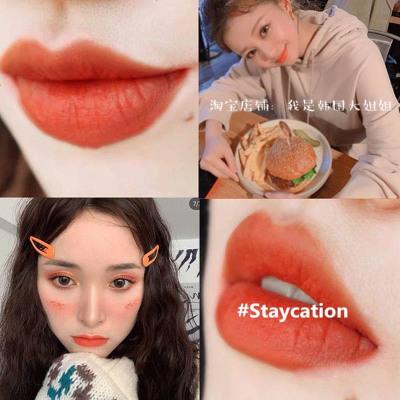 新款韩国3ce口红谣言哑光限量版梅子色雾面丝绒唇釉change女taupe #Staycation 橘子汽水
