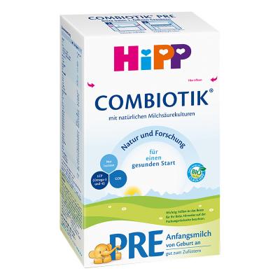 Hipp 德國喜寶 嬰幼兒添加益生菌奶粉 pre段 (0-3月) 600g/盒