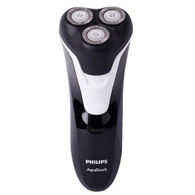 【五大良好性能】飛利浦(Philips) AT610 三刀頭電動剃須刀 充電式旋轉式刀頭 全身水洗 干濕兩用