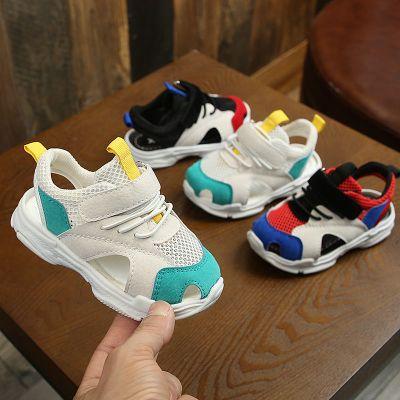 夏季2020新款包頭1-5歲3兒童涼鞋女軟底防滑男寶寶運動鞋小童鞋子威珺