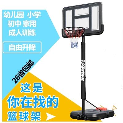 籃球架籃球框可升降移動青少年室內戶外成人家用訓練可升降移動閃電客兒童籃筐幼兒園籃球架