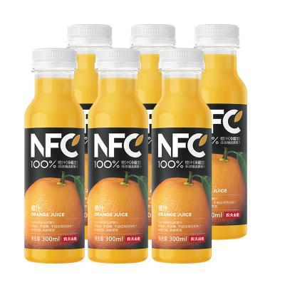 農夫山泉100%NFC純果汁冷壓榨橙汁300mlX6