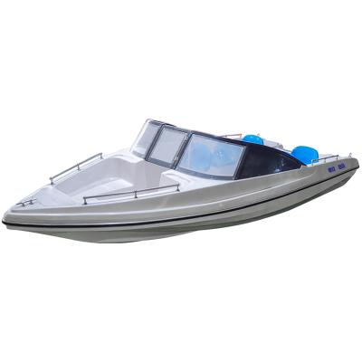翱毓(aoyu)WH5380型雙層平甲板敞開巡邏艇 游艇快艇巡邏船 釣魚巡邏漁船 抗洪救災指揮船 裸船不含外機
