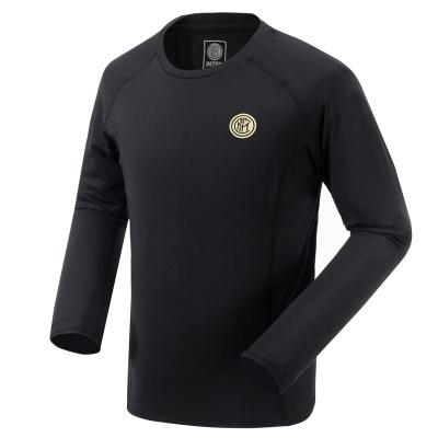 國際米蘭俱樂部Inter Milan官方20年男子運動T恤男長袖戶外寬松速干衣跑步休閑體恤健身上衣
