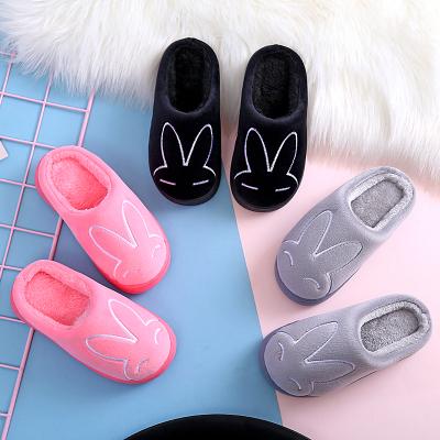 邁凱恩品牌兒童棉拖鞋秋冬寶寶卡通包跟防滑保暖男女童一家三口家居小孩棉鞋