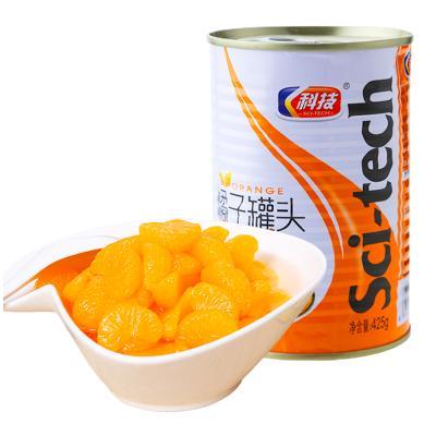 科技牌(SCI-TECH)糖水橘子罐头425g 桃子肉水果罐头 休闲食品 烘焙辅料 零食 方便速食 自热火锅伴侣 饮料