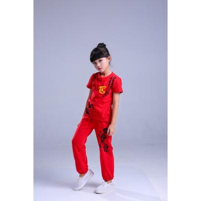因樂思(YINLESI)兒童武術服武館訓練服裝演出服幼兒園男童女童純棉太極拳練功衣服