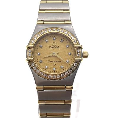【二手95新】欧米茄OMEGA星座系列1267.15.00女表石英奢侈品钟手表腕表