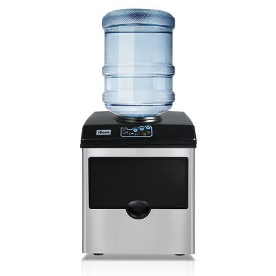 沃拓萊HZB-25BF 25KG商用小型接飲水機圓冰奶茶店家用制冰機