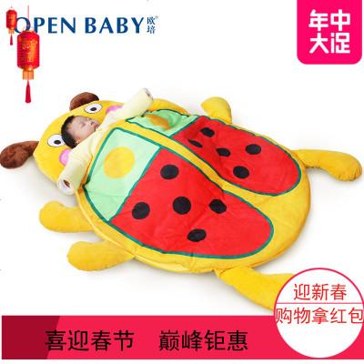 2019婴幼儿睡袋秋冬季恒温卡通宝宝防踢被子小孩新生儿童睡袋加厚