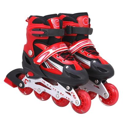 儿童溜冰鞋通用轮滑鞋成人滑轮速滑旱冰鞋闪电客直排轮新