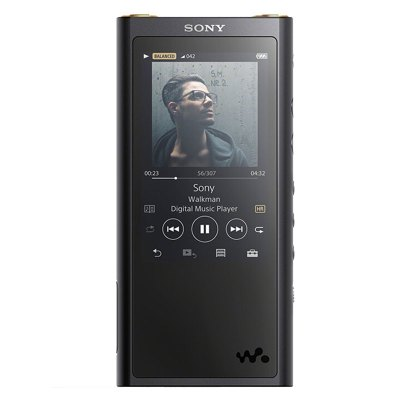 索尼(SONY)NW-ZX300 MP3音樂播放器 無損HIFI發燒隨身聽 64G版本 ZX300A升級版黑色